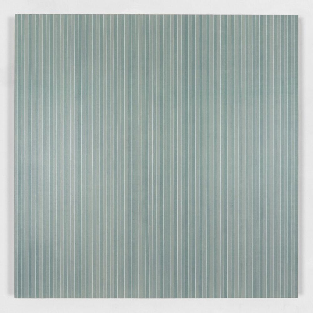 Vincenzo Merola, 80 Dice Rolls and 281 Coats, 2020, Pigmenti, gesso e acrilico su lino, cm 80×80