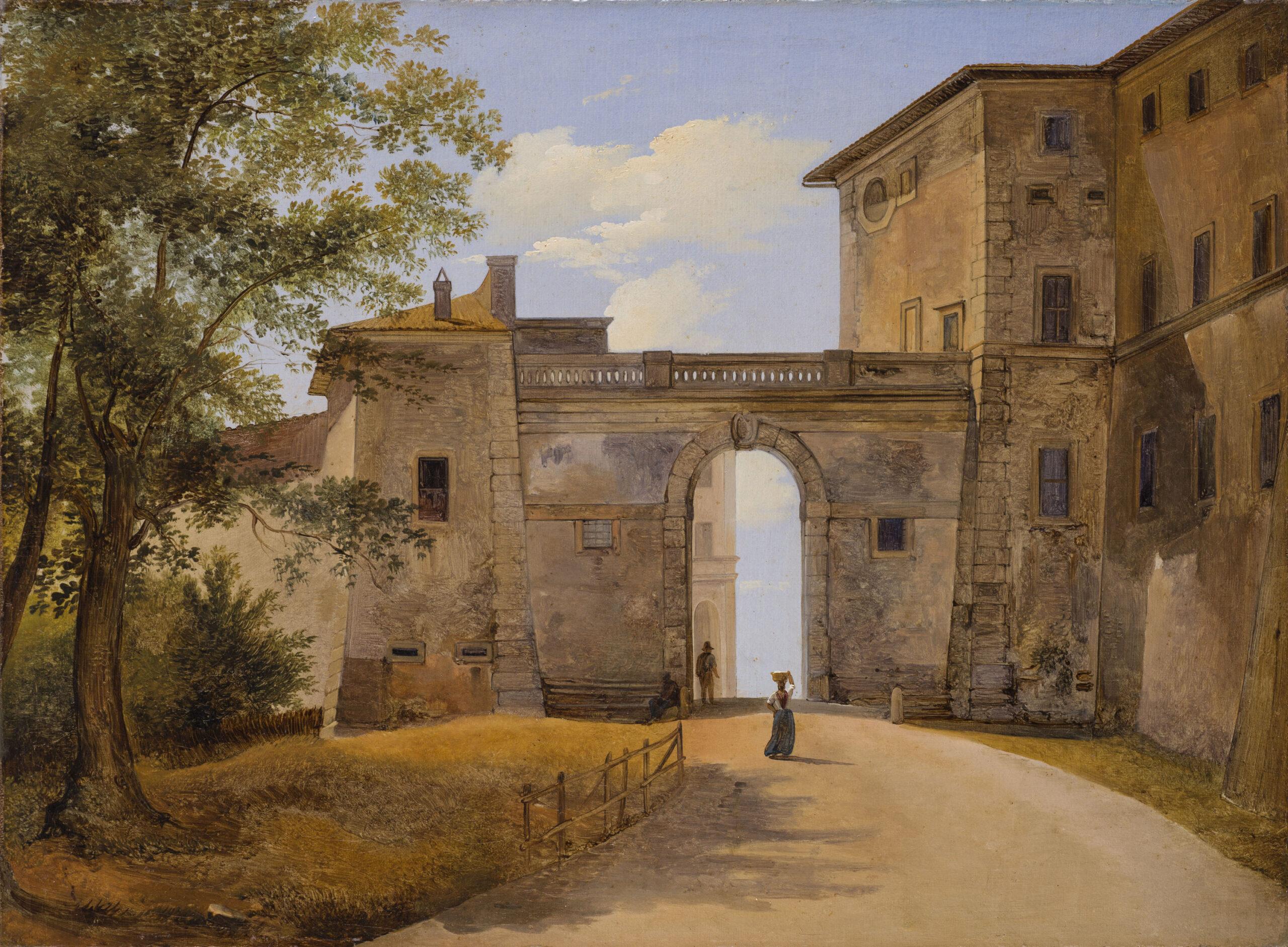 Due grandi acquisizioni pubbliche: il giardino inglese di Hackert ad Amburgo, la Porta Napoletana di Camuccini a Toledo