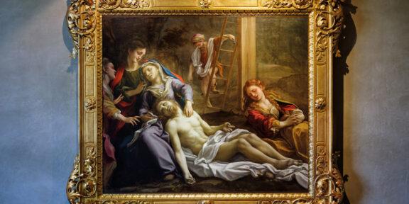 Antonio Allegri detto il Correggio, Compianto sul Cristo morto, 1524 circa