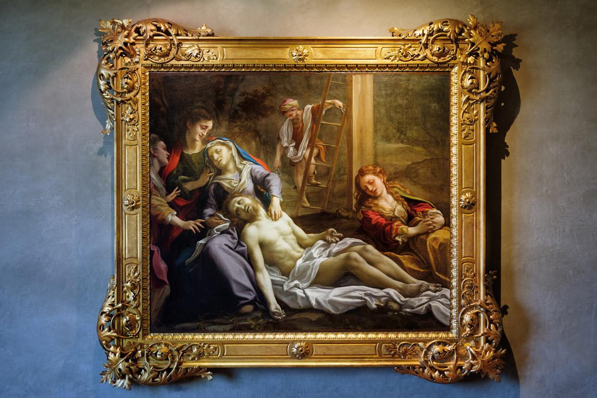"""Il mito di Correggio, una grande mostra permanente per la """"nuova"""" Pilotta di Parma. Progetto e Sezioni"""