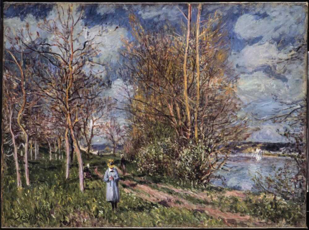 Alfred Sisley, The Small Meadow in Spring, 1880