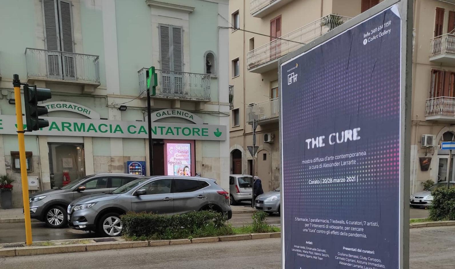 Arte in farmacia. In Puglia 7 artisti e 6 critici per il progetto The Cure