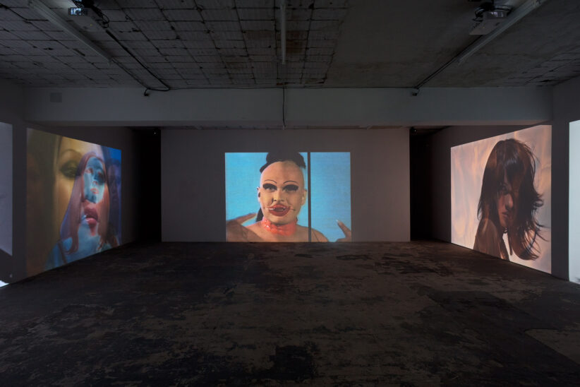 Charles Atlas, I am Beautiful, 2020. Installation view at ICA Milano, ph. Filippo Armellin (3)