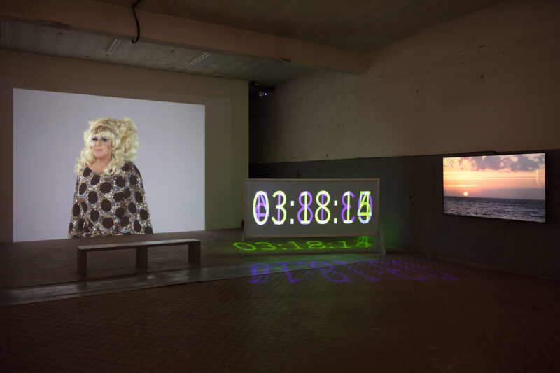Charles Atlas, The Waning of Justice, 2015. Installation view at ICA Milano, ph. Filippo Armellin.