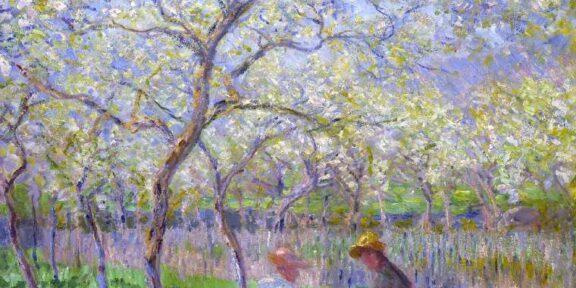 Claude Monet, Le Printemps, 1872
