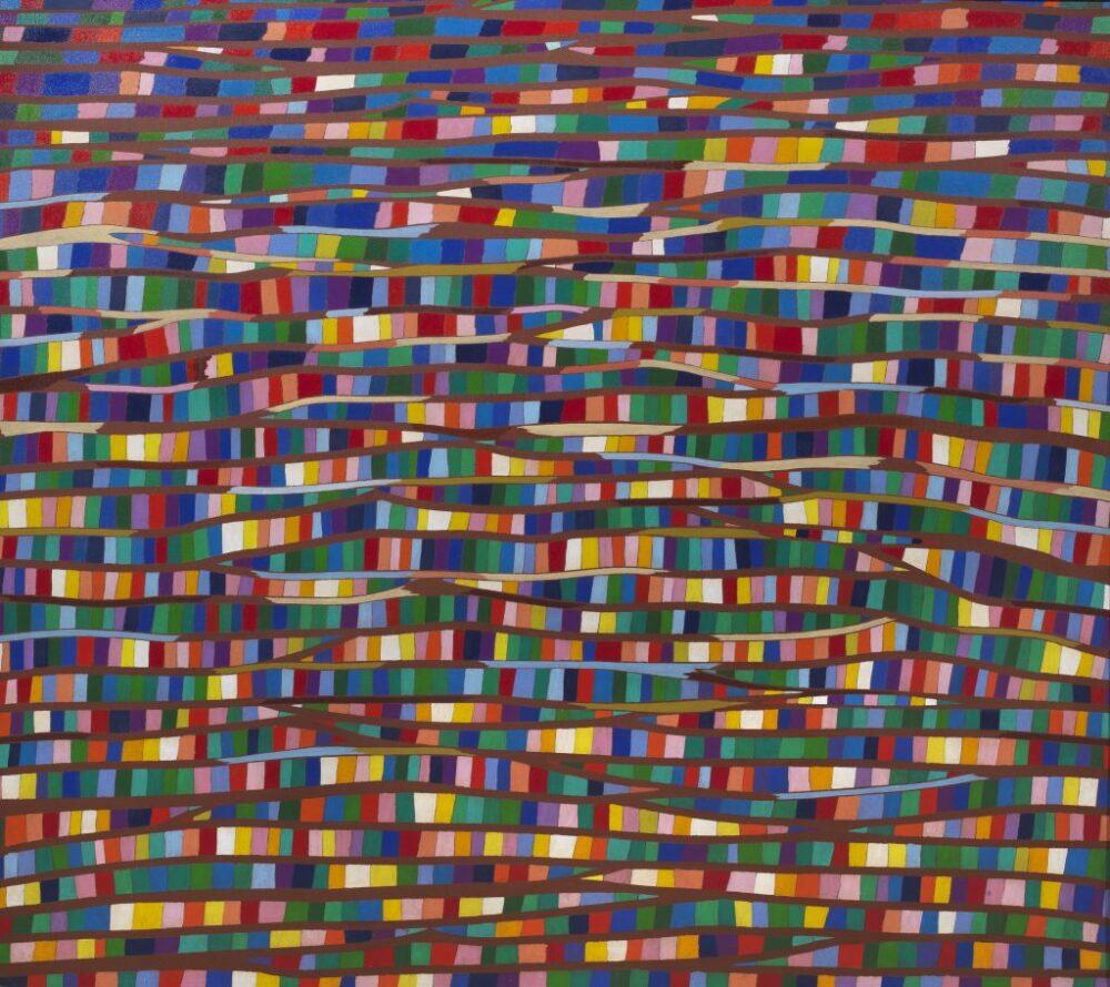 Piero Dorazio, Madrigale Umbro II°, 220 x 250 cm