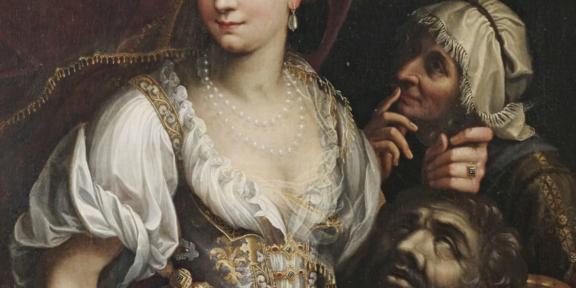 Fede Galizia, Giuditta con la testa di Oloferne, 1601 (particolare)