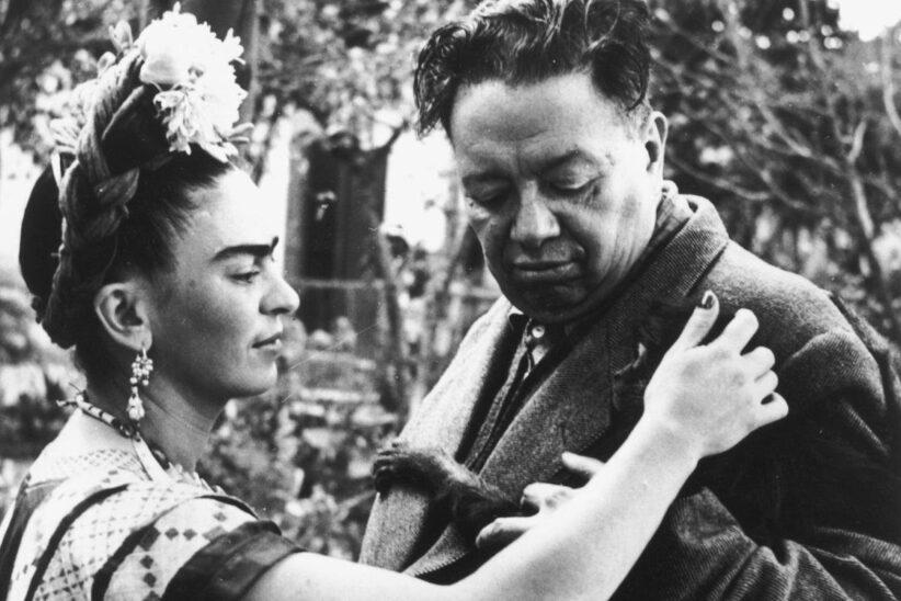 Frida Khalo e Diego Rivera