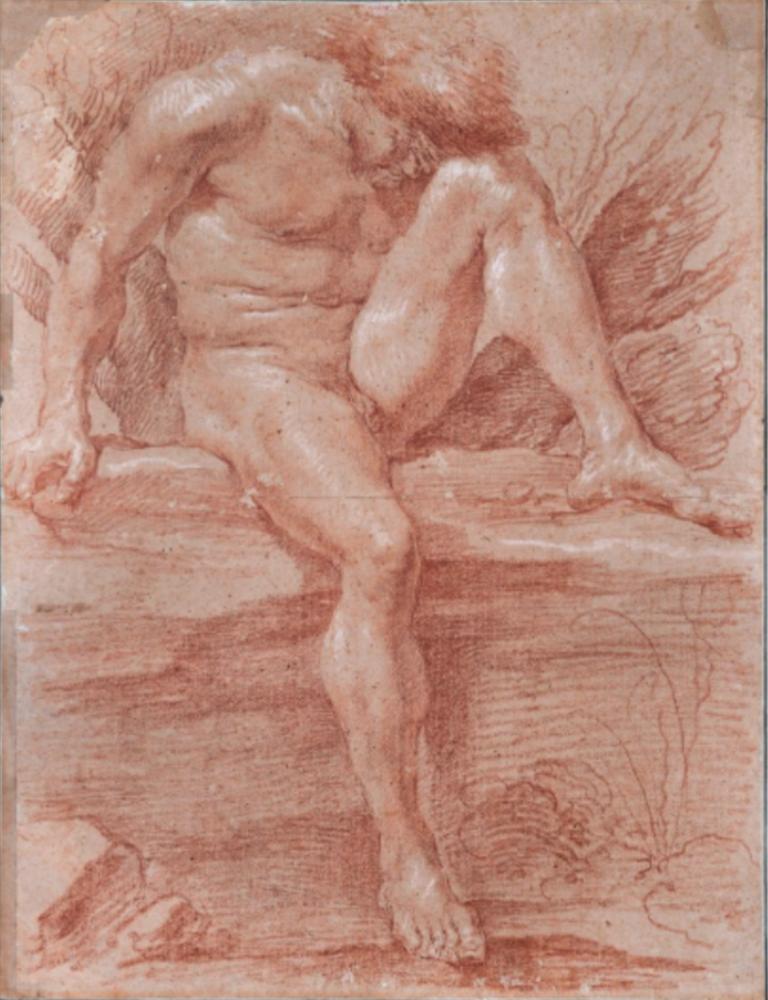 Gian Lorenzo Bernini, Académie d'homme