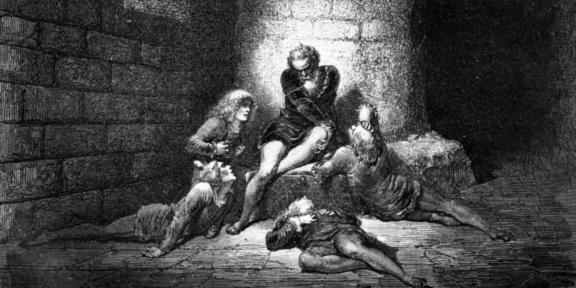 Il Conte Ugolino e i suoi figli, Gustave Doré