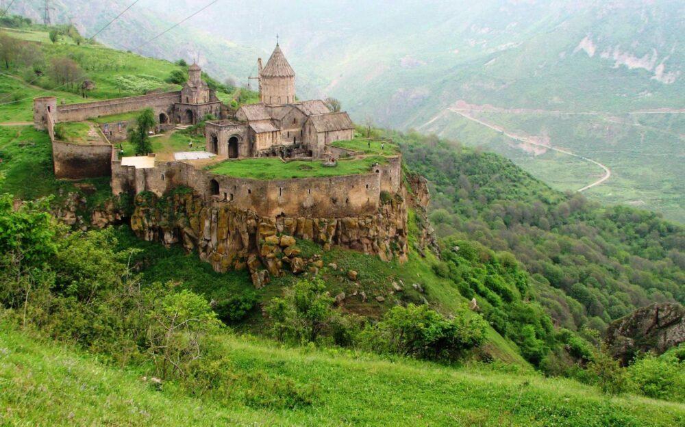Il Monastero Tatev, in Armenia (foto Nadia Pasqual)