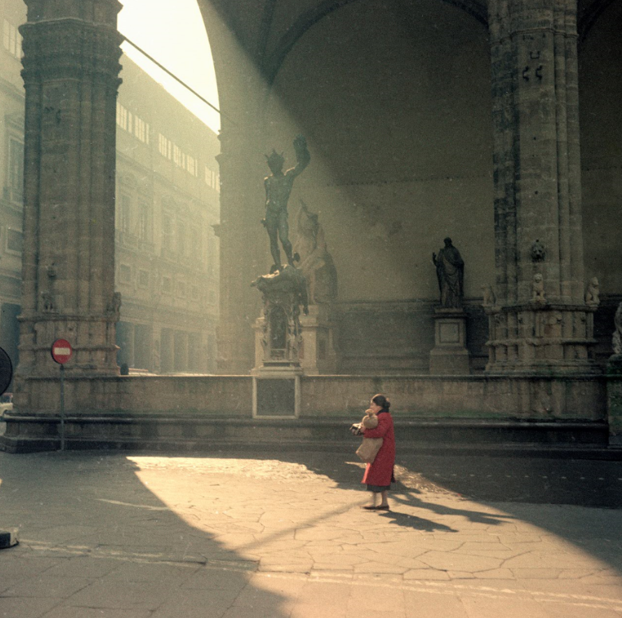 29.Vincenzo Balocchi_Piazza della Signoria_Firenze_1961_Raccolte Museali Fratelli Alinari (RMFA)-archivio Balocchi