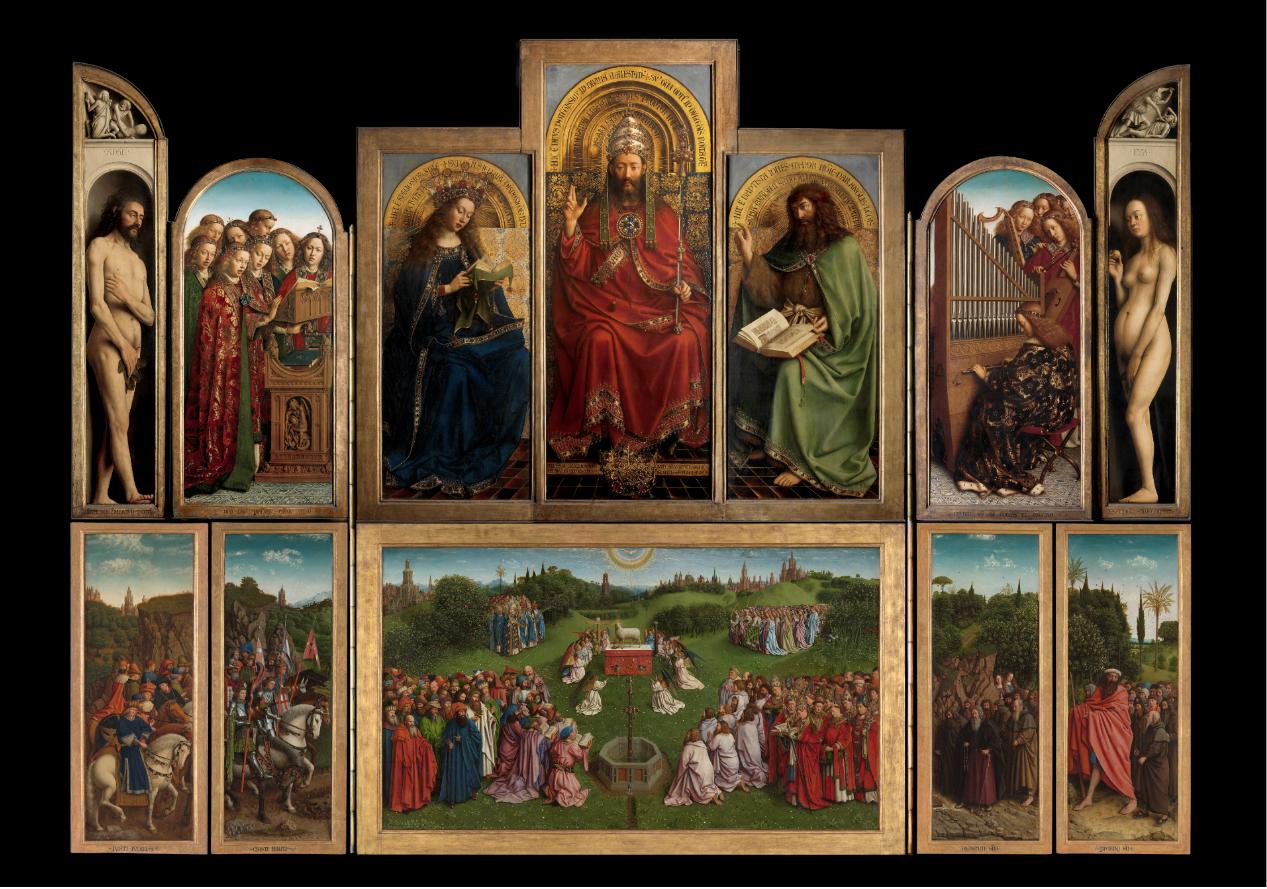 Apre il Visitor Centre di Gent, la nuova casa dell'Agnello Mistico di van Eyck