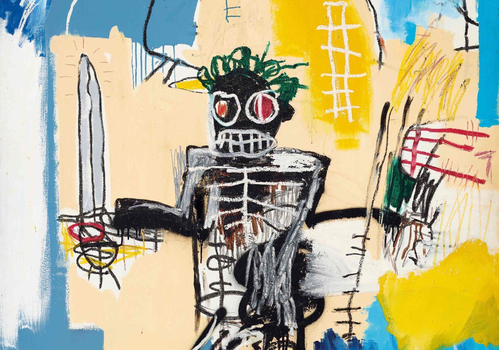Basquiat record da Christie's! Warrior è l'opera occidentale più cara mai venduta in Asia