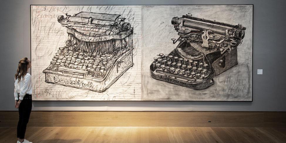 William Kentridge, Large Typewriters, 2003. Bonhams