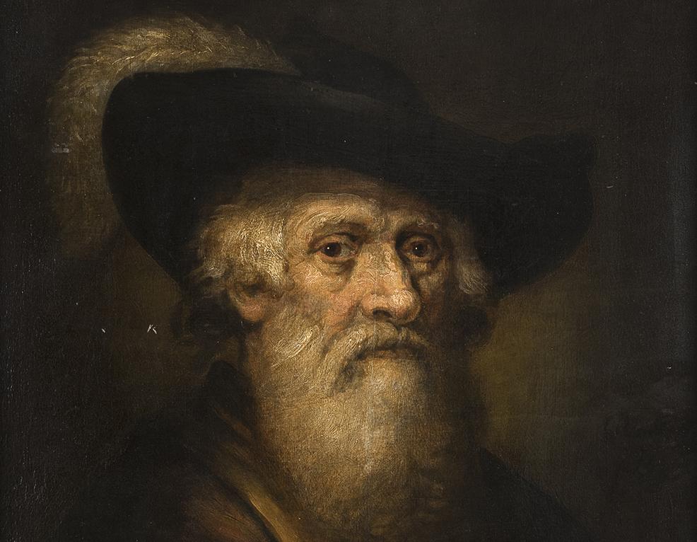 Di un seguace di Rembrandt. Un ritratto di gentiluomo guida le prossime aste di Babuino