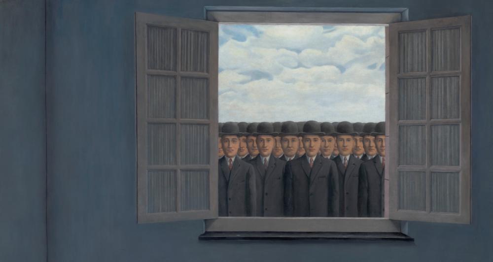 Le mois des vendanges, di Rene Magritte (particolare)