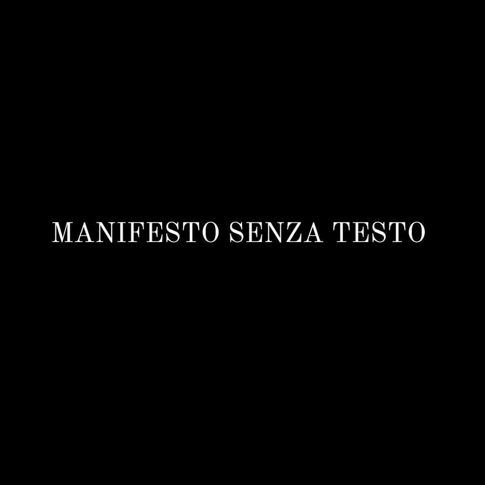 Manifesto Senza Testo