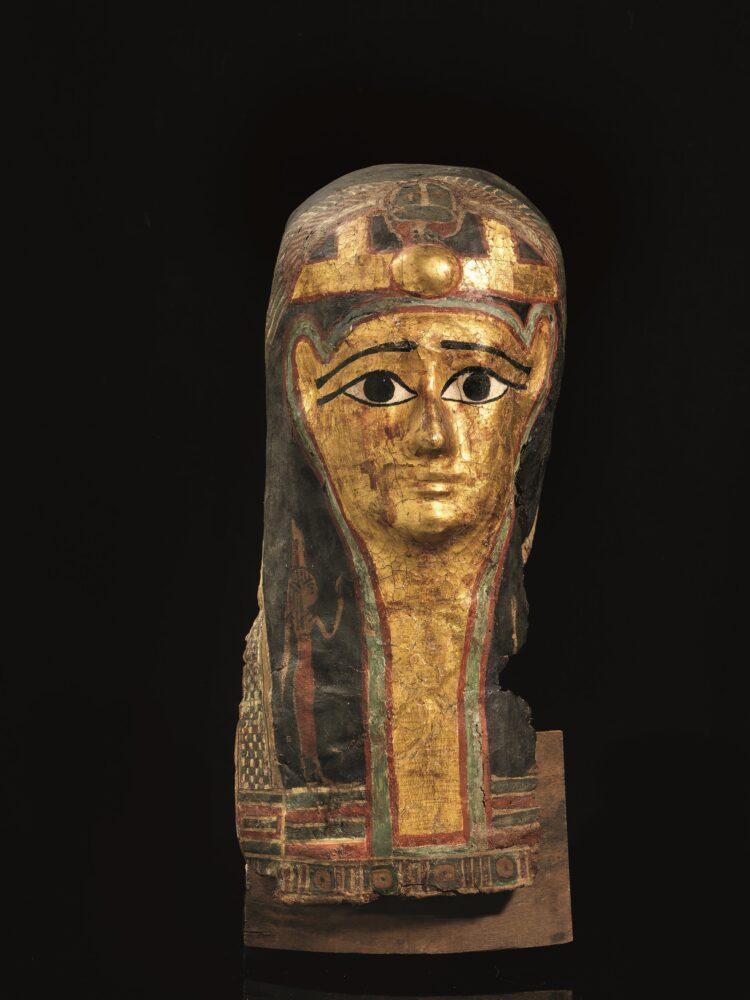 Pandolfini archeologia 2021 Maschera egizia, periodo tolemaico