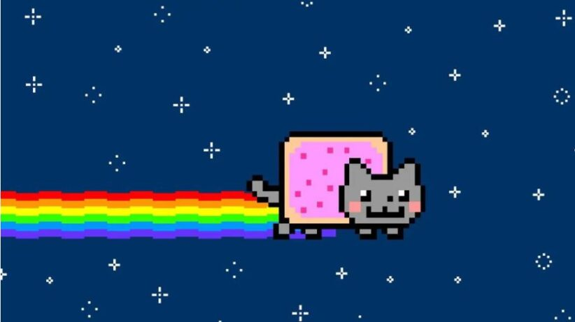Nyan Cat, la gif