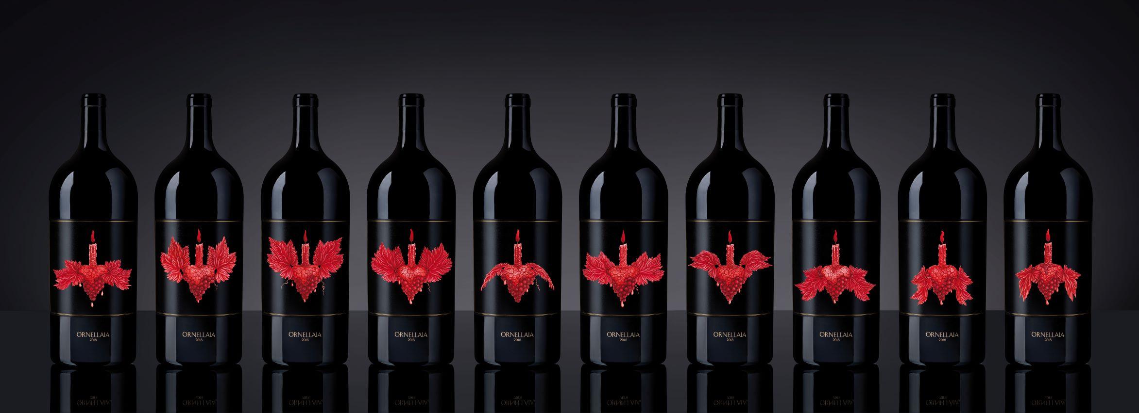 Vendemmia d'Artista: Jan Fabre per Ornellaia. La suggestione rosso corallo nell'interpretazione artistica del carattere del vino
