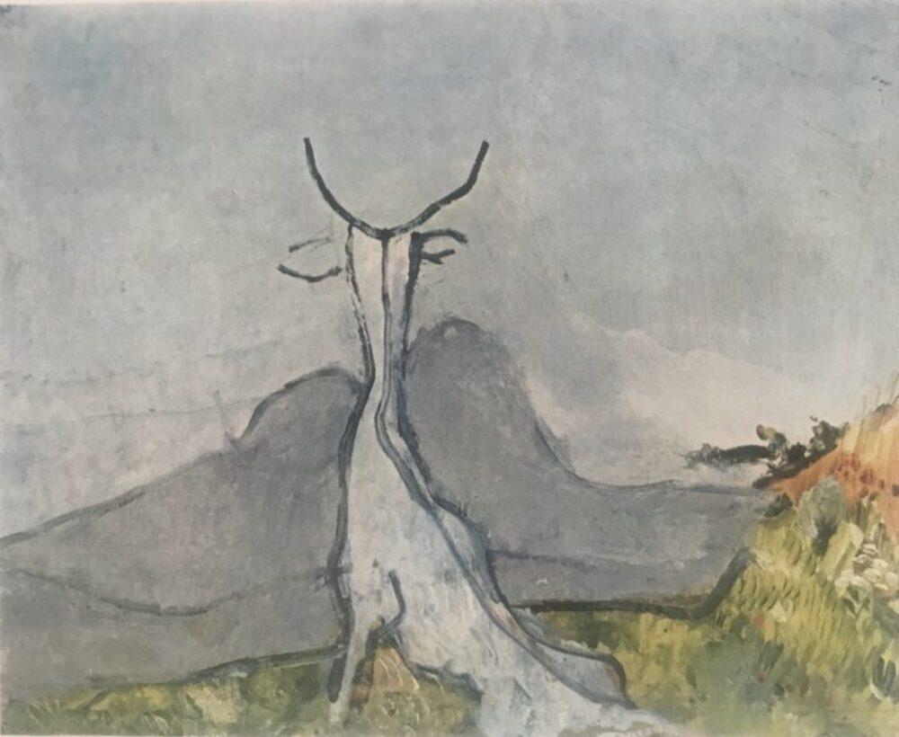 Osvaldo Licini, Paesaggio fantastico (Il capro), 1927