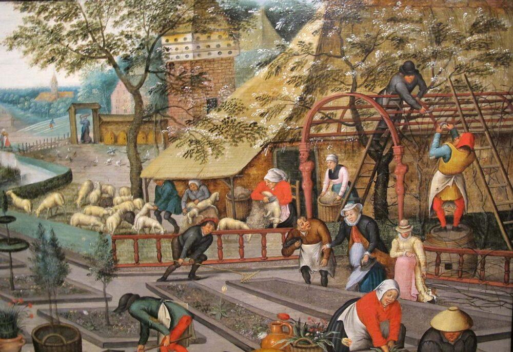 Pieter Bruegel il giovane, Primavera