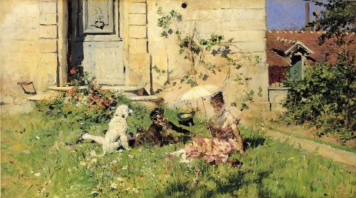 Primavera, di Giovanni Boldini