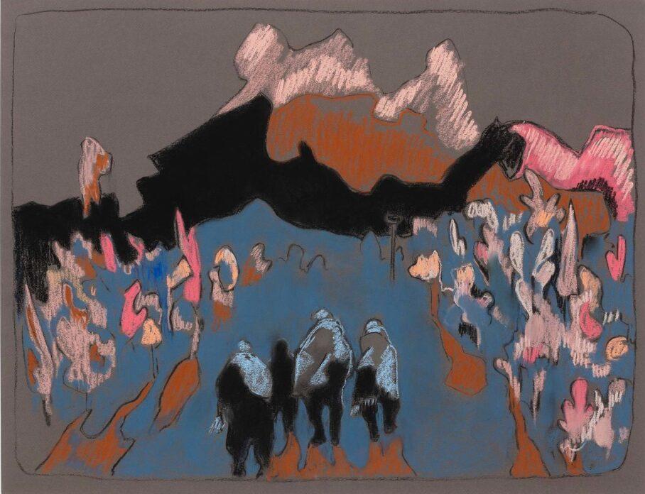 """Universi di carta. La collettiva """"on paper"""" di Monica De Cardenas"""