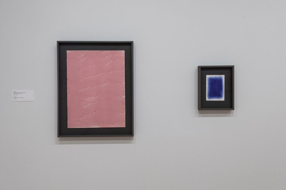 """Installation view of """"Silent Revolutions: Italian Drawings from the Twentieth Century"""" at the Menil Drawing Institute, The Menil Collection, Houston. Photo: Paul Hester."""