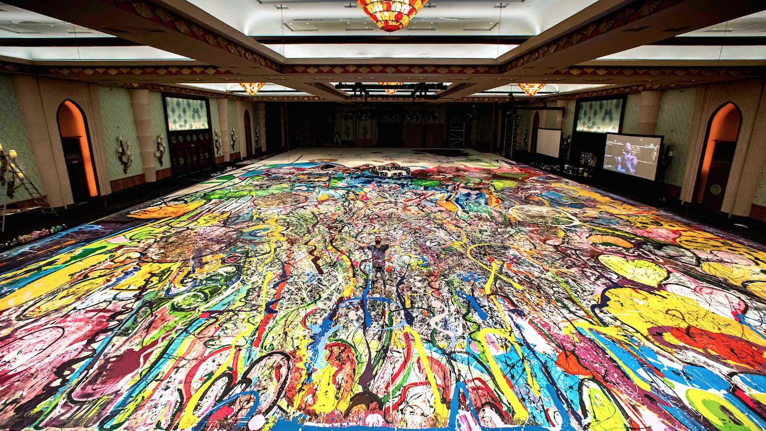 62 milioni di dollari. Venduto a Dubai il dipinto più grande del mondo, 1600 metri quadrati