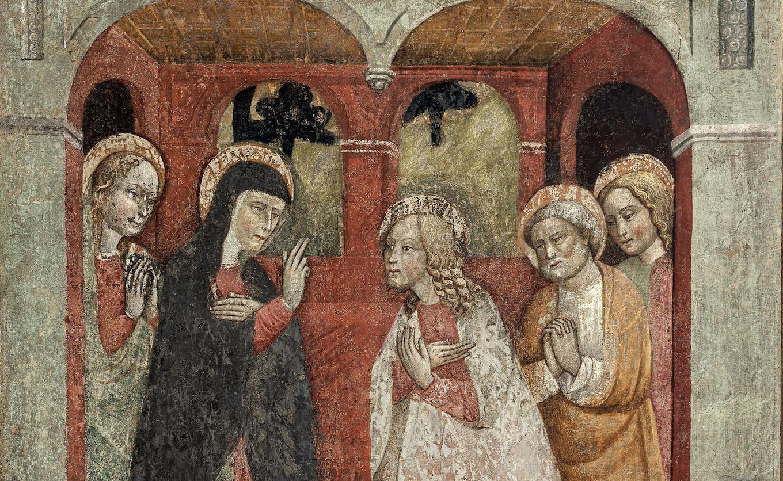 Gli affreschi della Passione. Dal monastero di Santa Chiara al Museo Diocesano, per la prima volta esposti