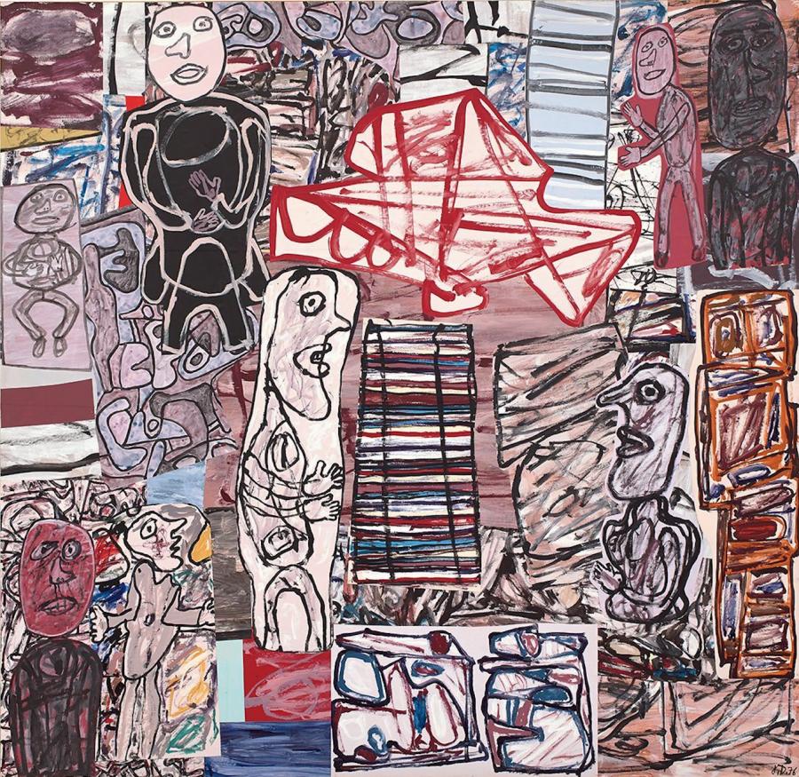 Jean Dubuffet, La féconde journée,1976. PHILLIPS