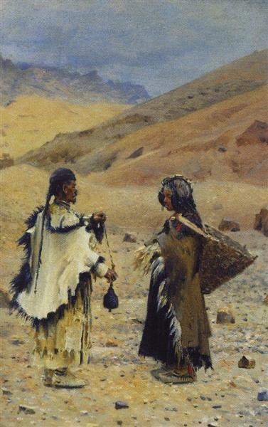 Vasilij Vasil'evič Vereščagin, Abitanti del Tibet occidentale, 1874