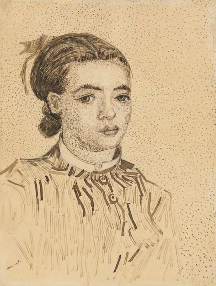 Vincent van Gogh, La Mousmé, 1888