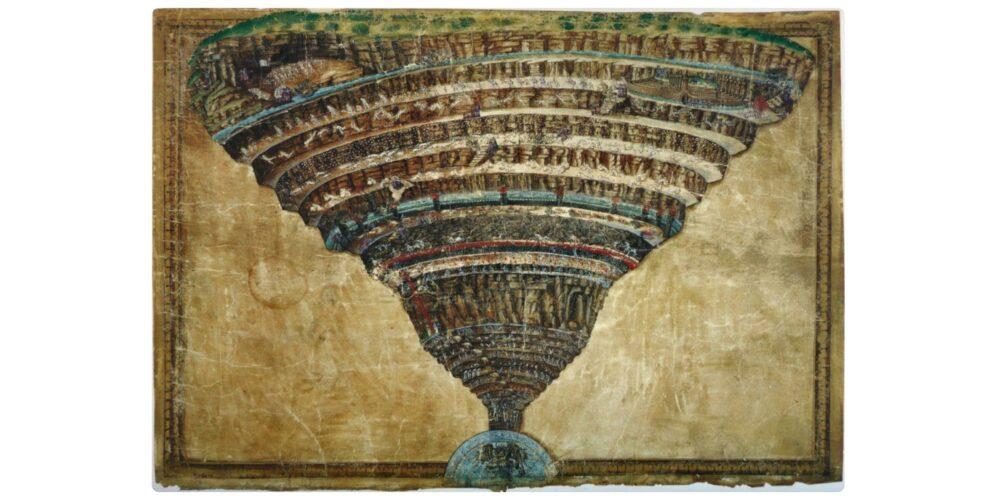 Voragine infernale, di Sandro Botticelli