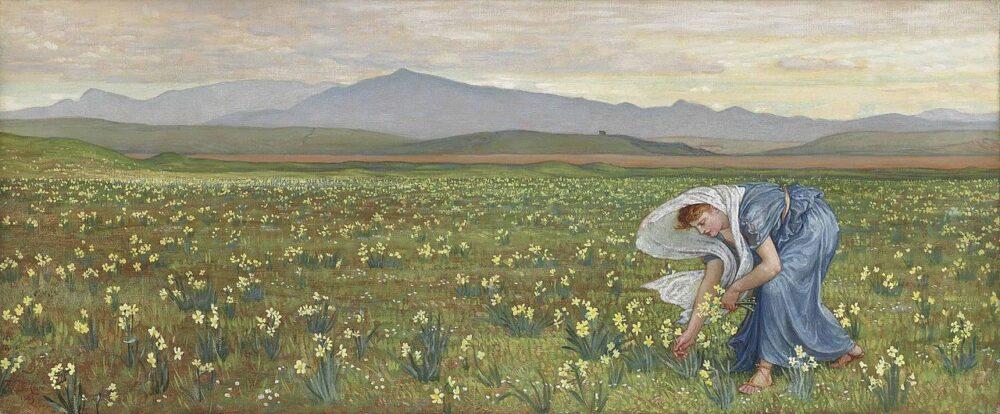 Walter T. Crane, La primavera