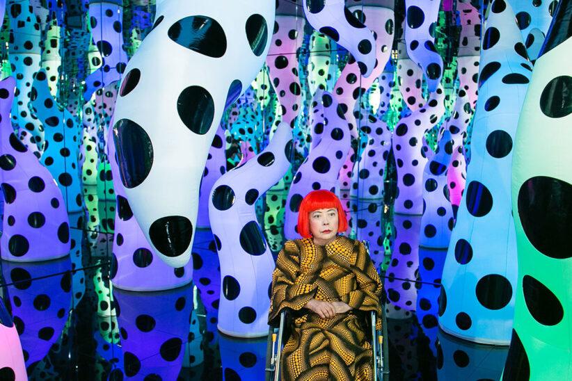 Yayoi Kusama presenterà a Berlino A Bouquet of Love I Saw in the Universe