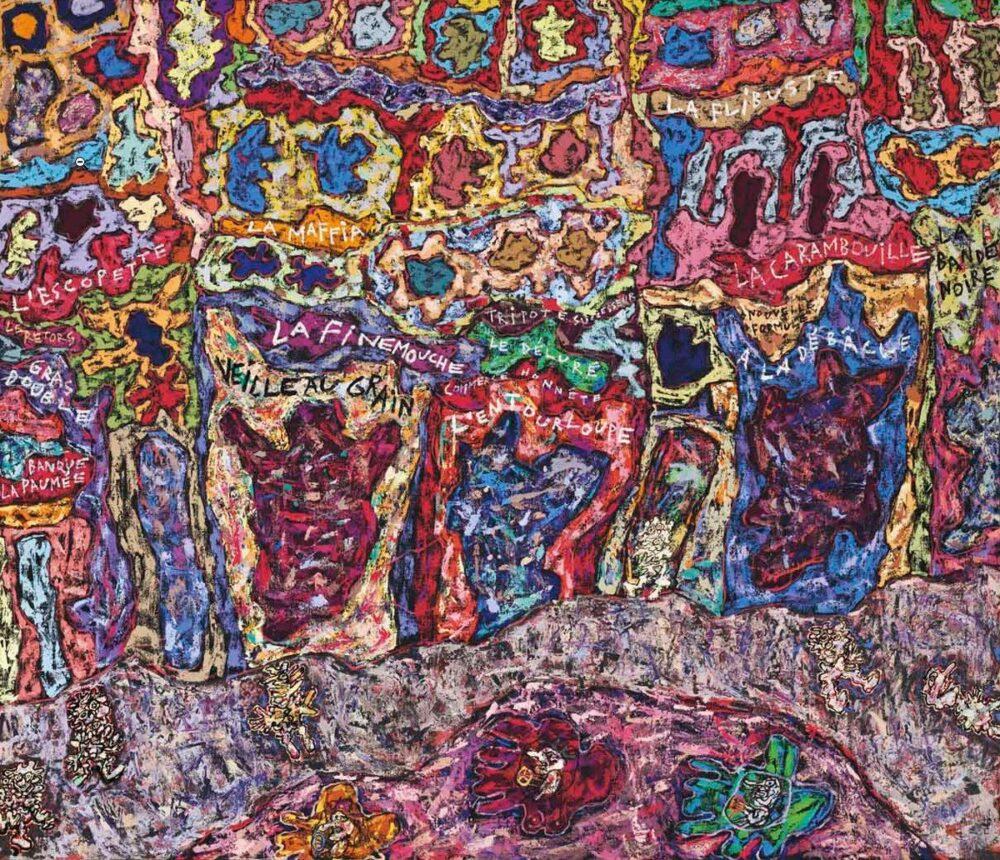 Jean Dubuffet, Paris Polka, 1961 Sold price: 24,805,000 USD