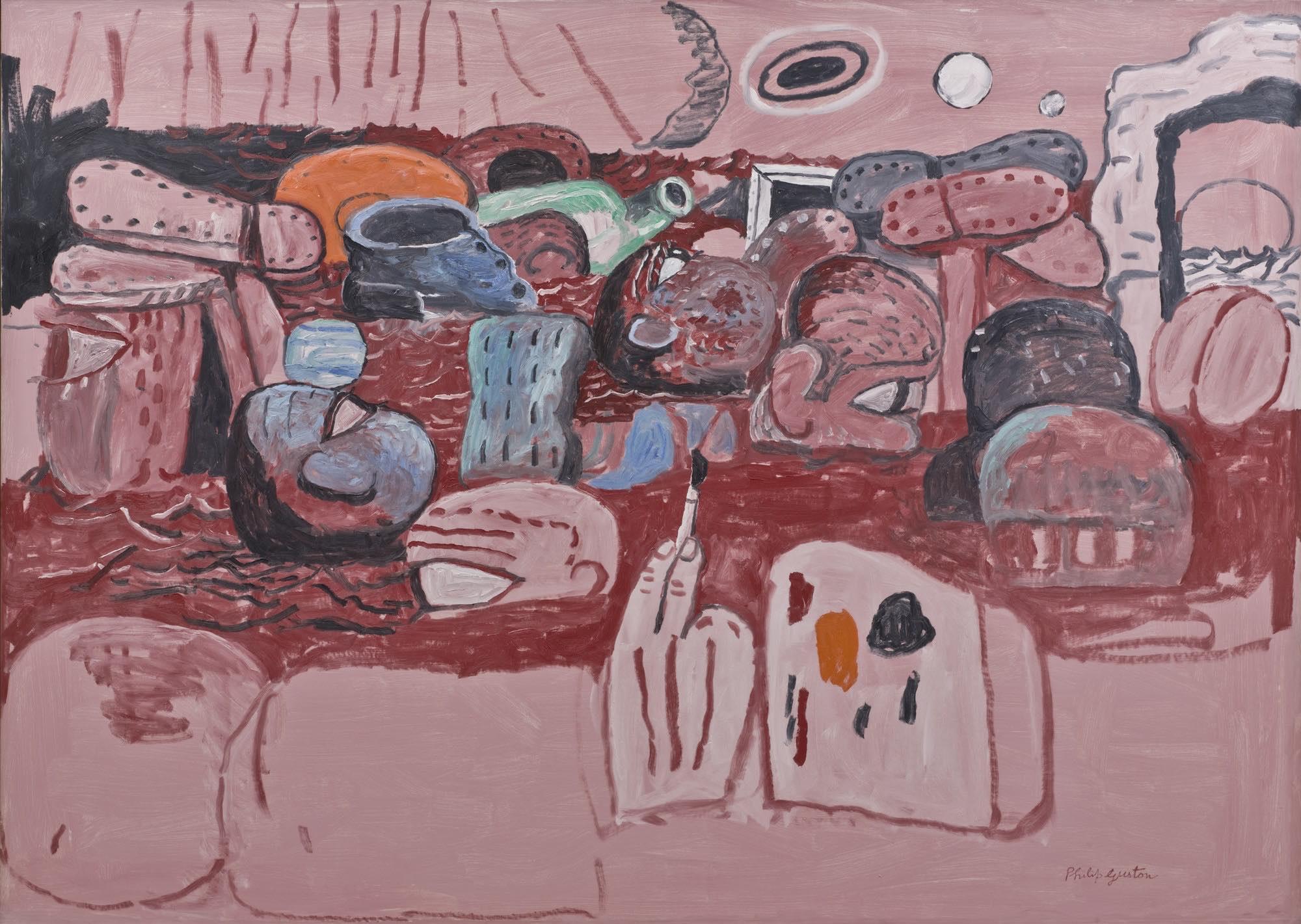 """Quando l'arte parla di resilienza: """"Deluge II"""" di Philip Guston"""
