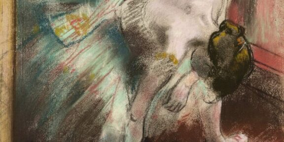 Edgard Degas, Danseuse au tutu vert, 1887 Stima : 2 – 3 millions € Credit : Sotheby's / ArtDigital Studio