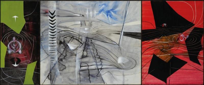 Roberto Matta, Prince of Blood (triptych). Estimate: 1,000,000 - 1,500,000 EUR