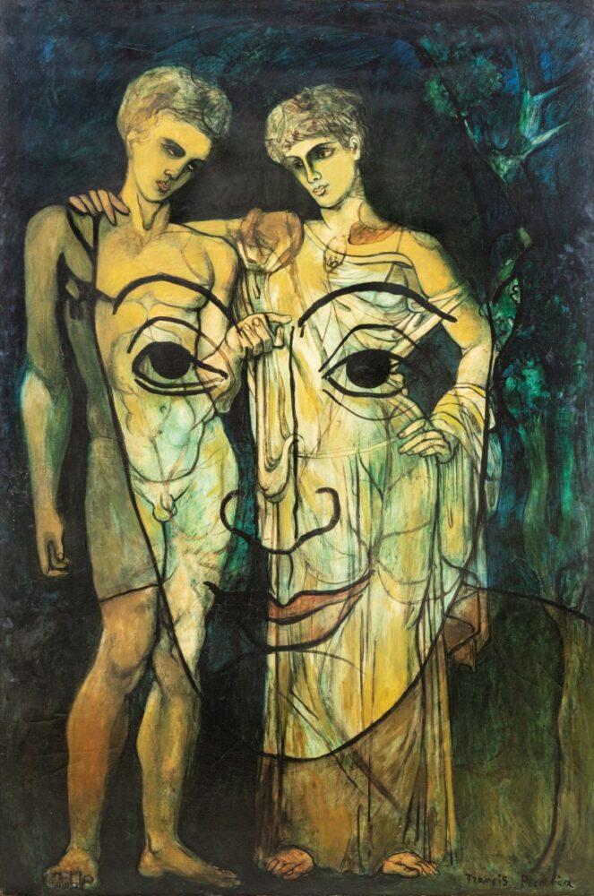 Francis Picabia, Adam et Ève. Estimate: 1,500,000 - 2,000,000 EUR