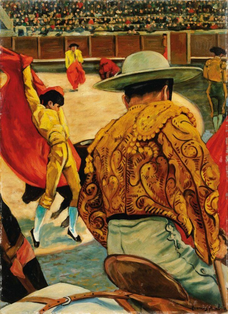 Francis Picabia, La corrida (Le Matador dans l'arène). Estimate: 1,700,000 - 2,500,000 EUR