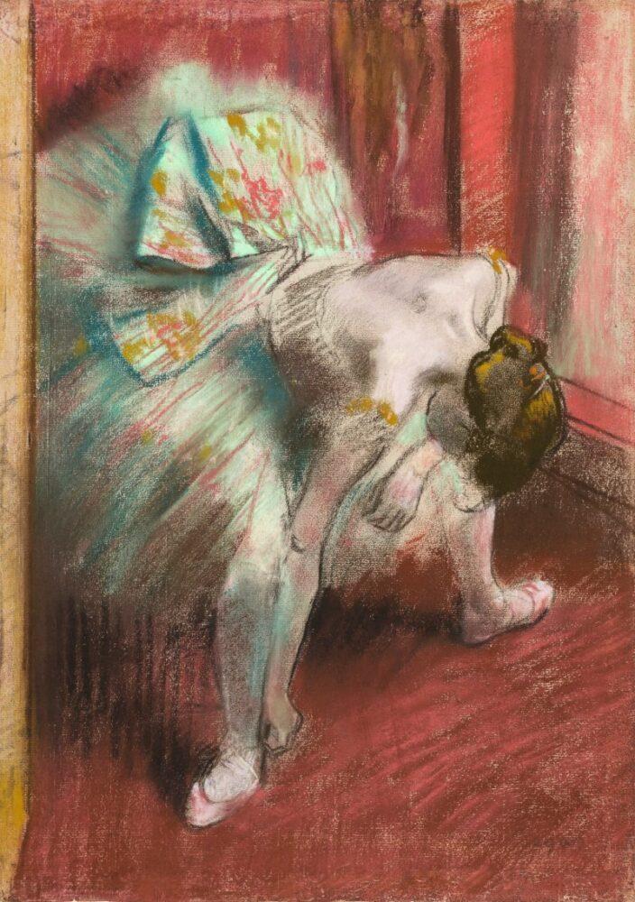 Edgar Degas, Danseuse au tutu vert. Estimate: 2,000,000 - 3,000,000 EUR