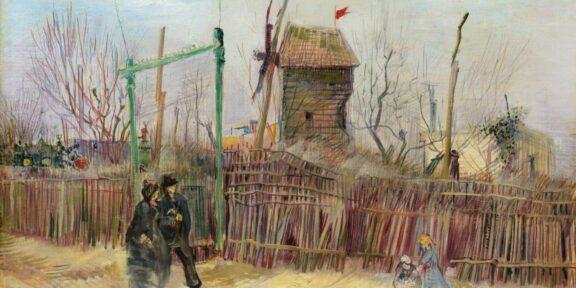 Vincent van Gogh, Scène de rue à Montmartre (Impasse des Deux Frères et le Moulin à Poivre). Estimate: 5,000,000 - 8,000,000 EUR