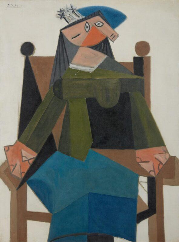 Pablo Picasso, Femme assise dans un fauteuil. Estimate: 6,500,000 - 8,500,000 GBP