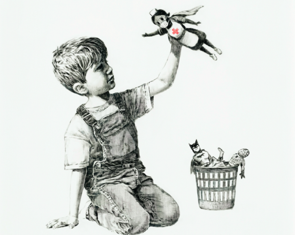 Banksy, Game charged