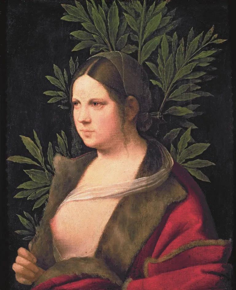 Giorgione, Laura, 1506, olio su tela, 41x33,5 cm, Kunsthistorishes Museum, Vienna