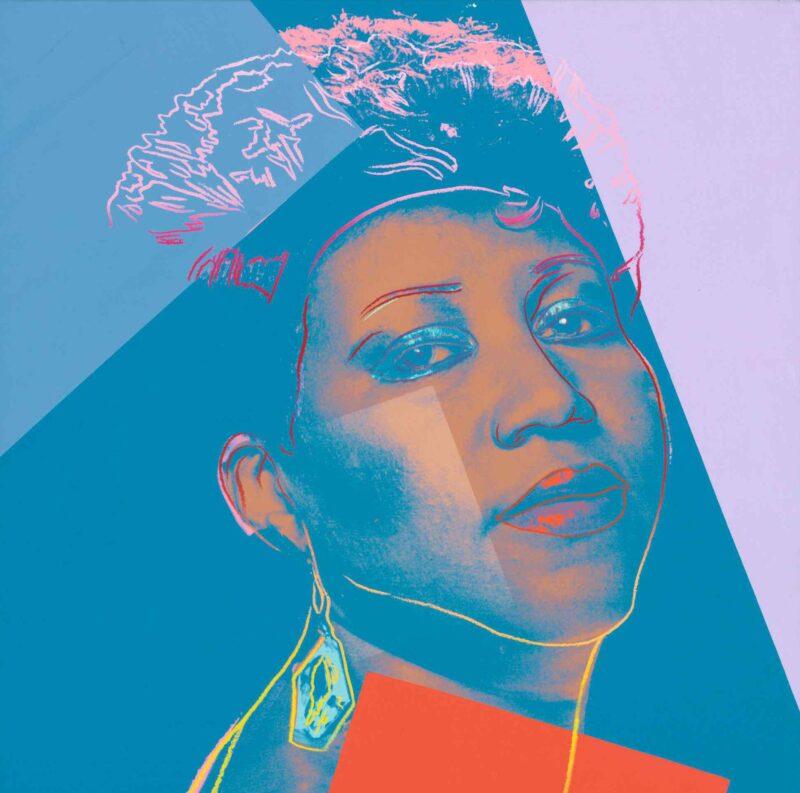Andy Warhol, Aretha Franklin. Estimate: 900,000 - 1,200,000 USD